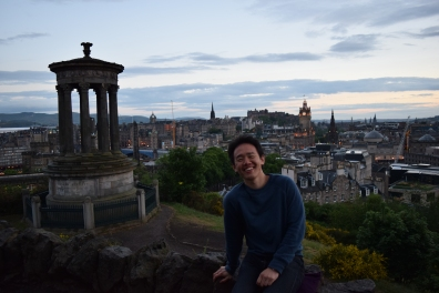 Picture in Edinburgh
