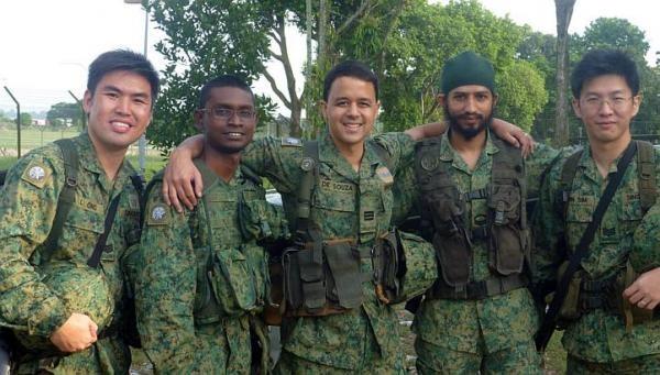 SAF army